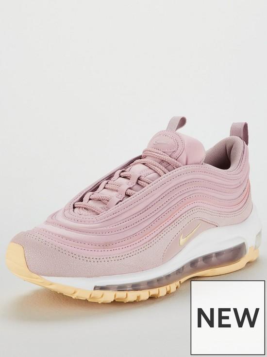 online retailer 0dd59 b6638 Nike Air Max 97 Premium - Pink White