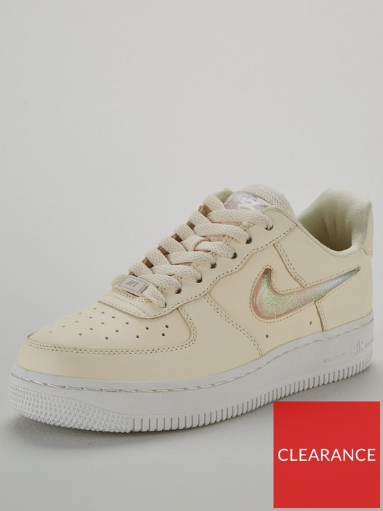 4d60c439b Nike Air Force 1 '07 Se Premium - Cream/White | very.co.uk