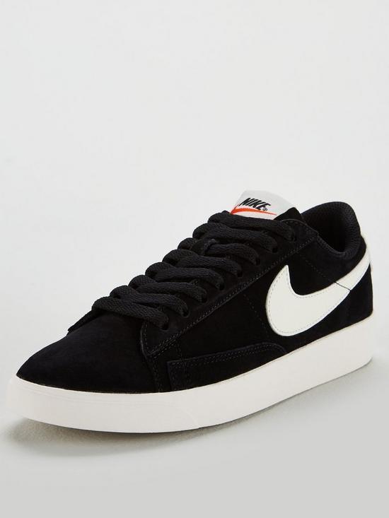 62cd04116c12 Nike Blazer Low Suede - Black