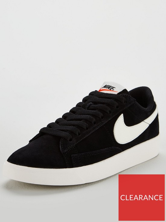 cheap for discount 322fe d4407 Blazer Low Suede - Black