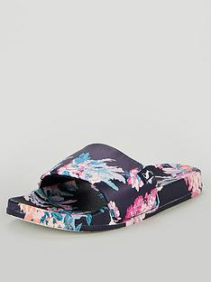 joules-poolside-pu-sliders-dark-blue-floral