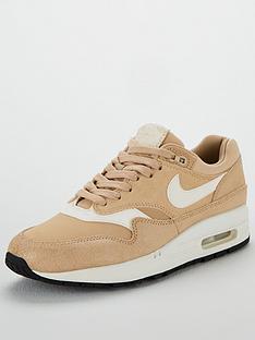 san francisco 2b3f0 01303 Nike Air Max 1 Premium - BeigeWhite