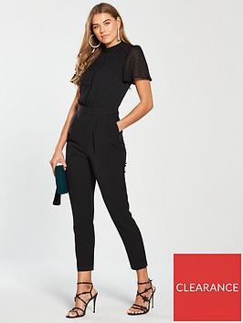 oasis-angel-sleeve-2-in-1-jumpsuit-black