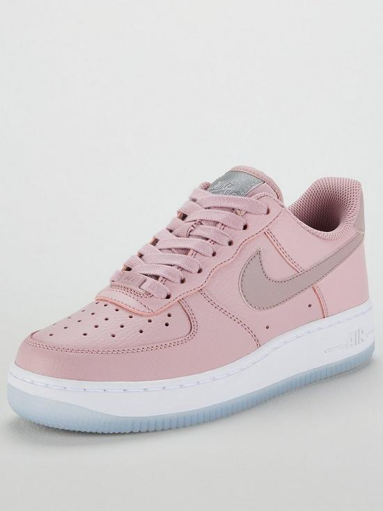 watch 56e13 2d79c Nike Air Force 1  07 Essential - Pink White