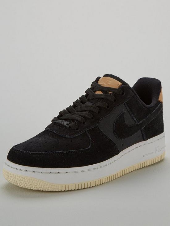 big sale 3f7db 7be59 Nike Air Force 1  07 Premium - Black Cream