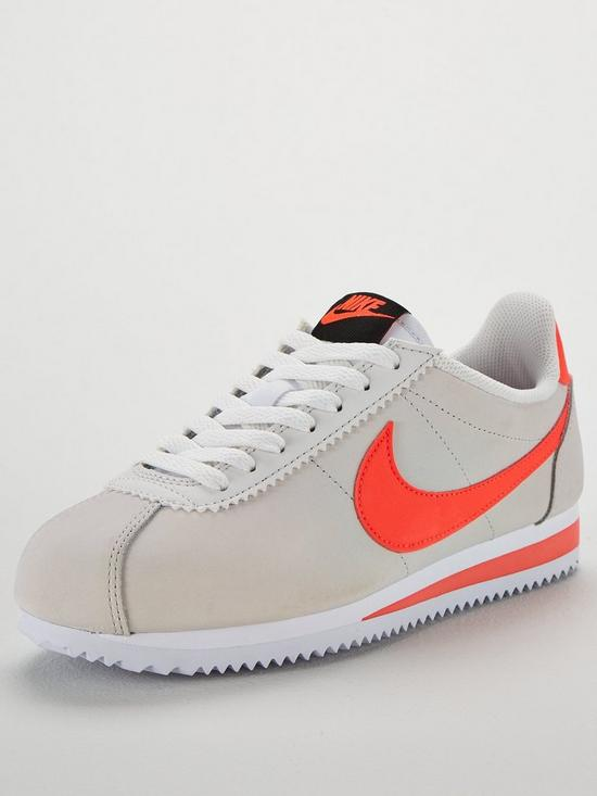 timeless design 7a330 4a41a Nike Classic Cortez Leather - Off WhiteCoral