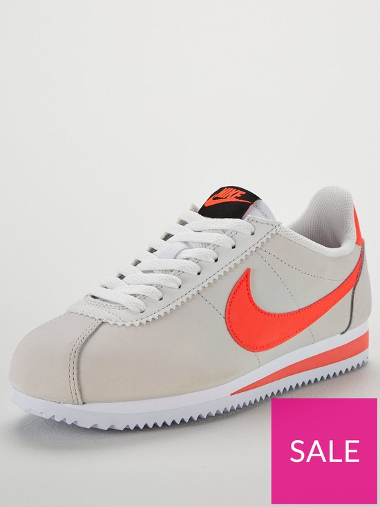 on sale 11754 5c924 Nike Classic Cortez Leather - Off White Coral