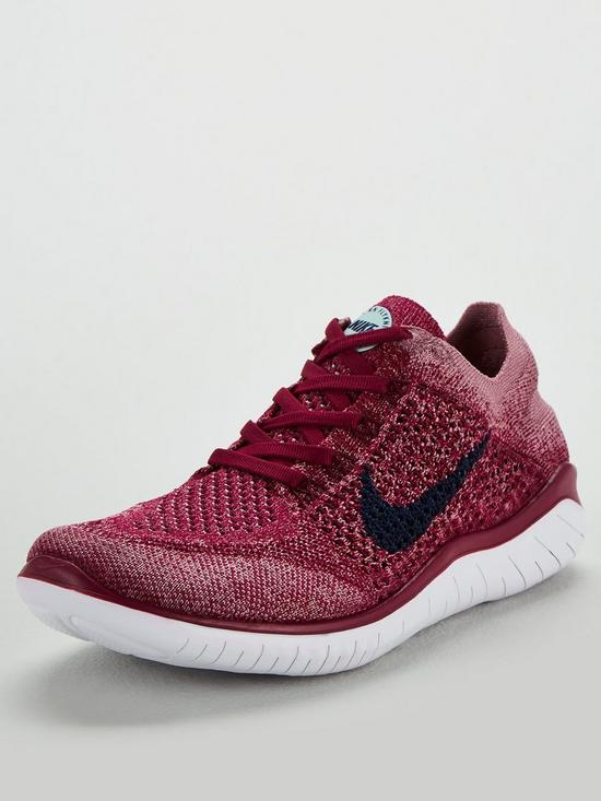 8cd3e38e4420 Nike Free RN Flyknit 2018 - Raspberry White
