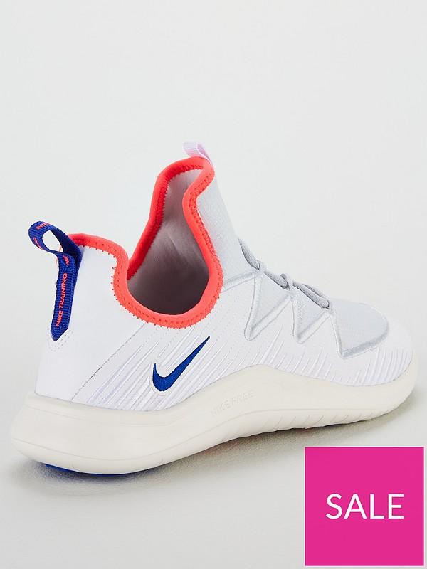 on sale 68b8a 74b29 Nike Free Tr 9 - White Blue   very.co.uk