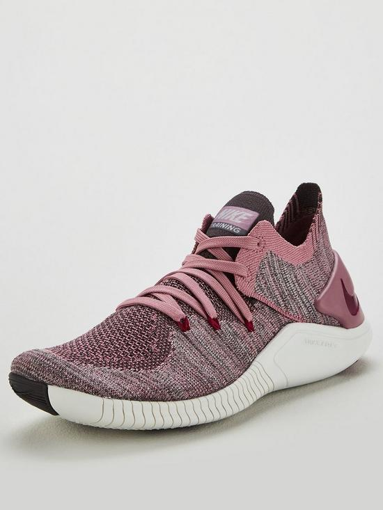 3a70fb7f492d9 Nike Free TR Flyknit 3 - Pink White