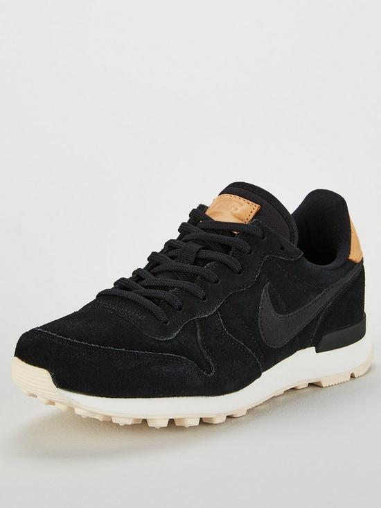 uk availability 16291 cdb47 Nike Internationalist Premium - Black Cream   very.co.uk