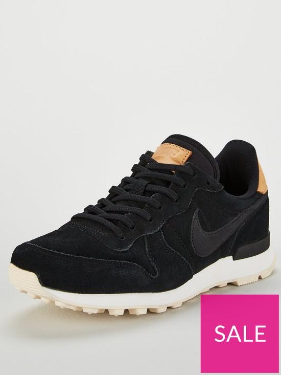 watch 22e9d 023b8 Nike Internationalist Premium - Black Cream