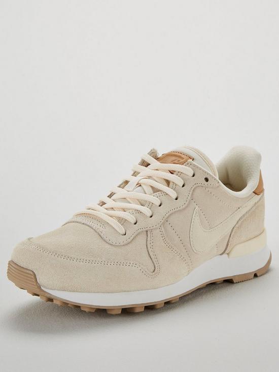on sale e2c30 3d703 Nike Internationalist Premium - Cream/White | very.co.uk