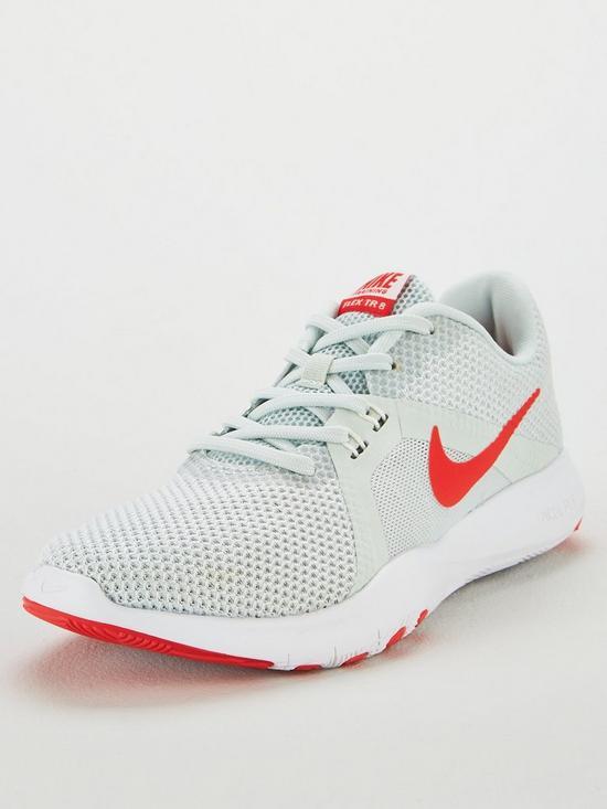 38b15639a9ef Nike Flex Trainer 8 - Grey Red