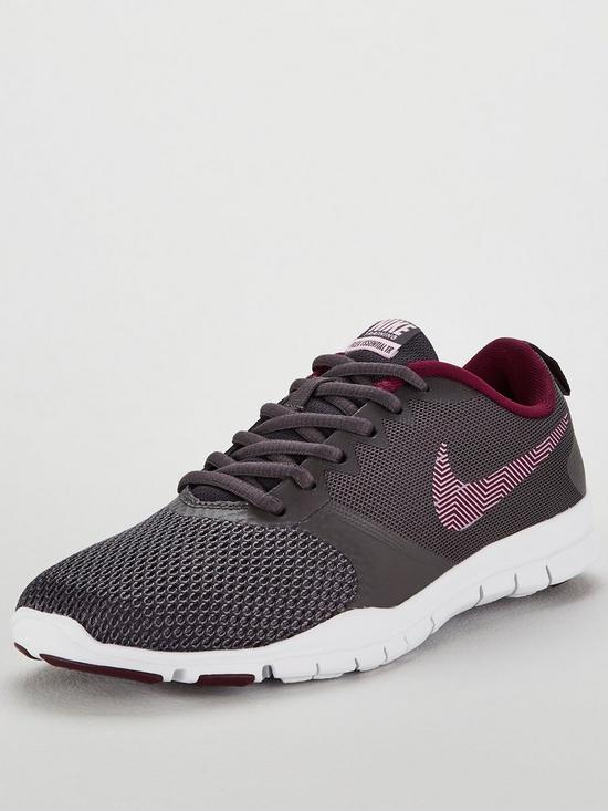 b94447034a7a52 Nike Flex Essential TR - Dark Grey Pink