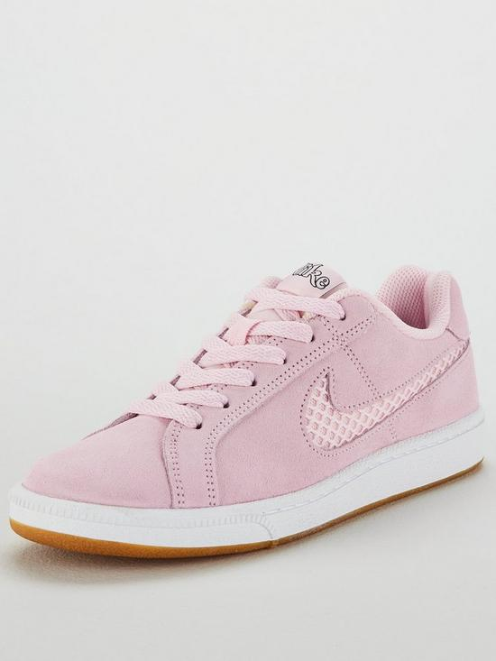 check out 3b2f3 73dfb Nike Court Royale Suede - Pink