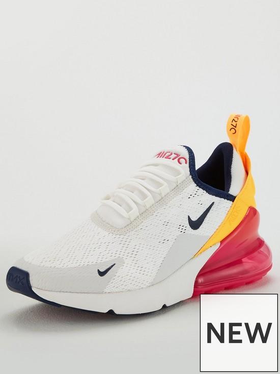 Nike Air Max 270 - White Pink  2c407fdac