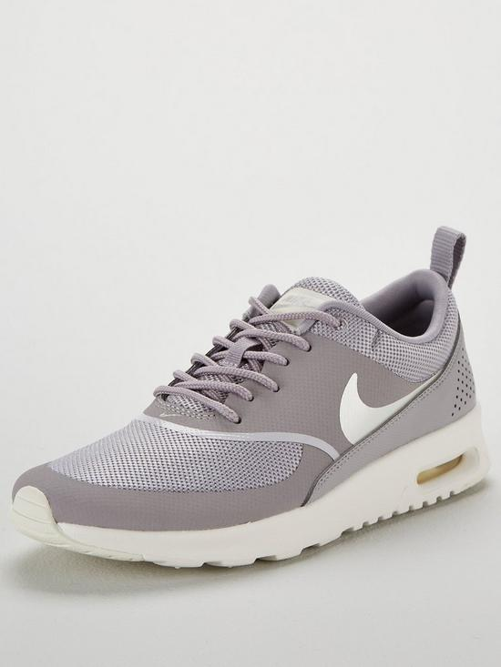 detailed look 6ecb8 e2178 Nike Air Max Thea - Grey/Cream | very.co.uk