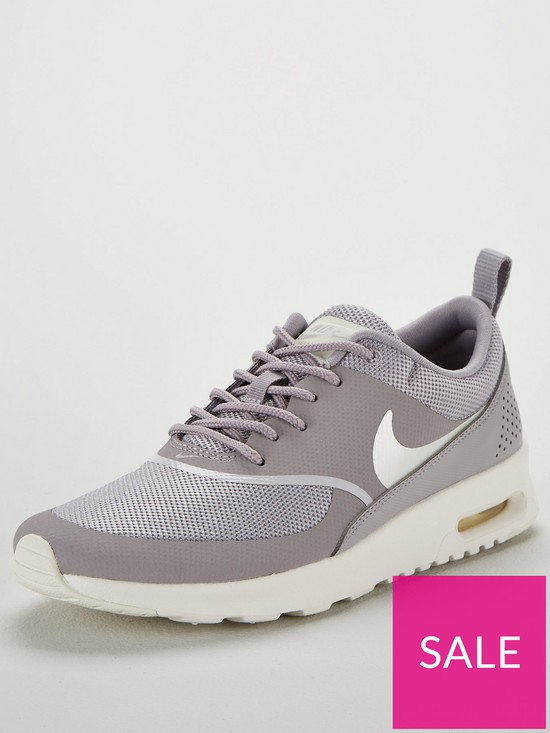 ffa8de6b Nike Air Max Thea - Grey/Cream | very.co.uk