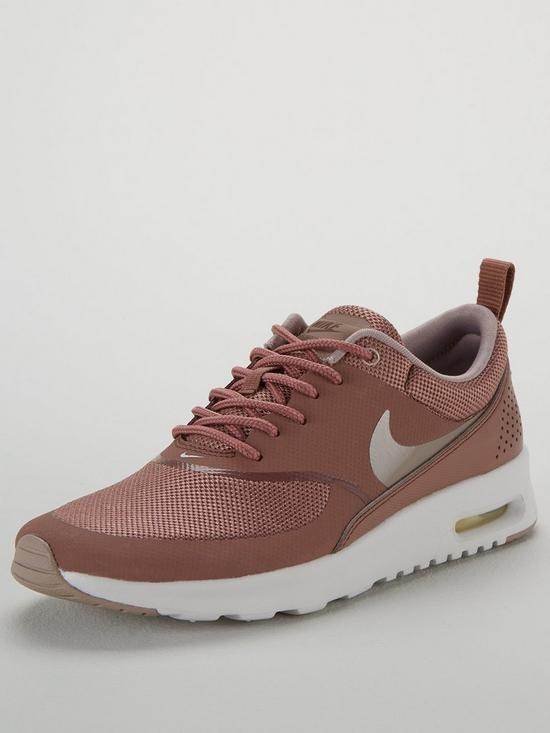 the best attitude 2fa04 81512 Nike Air Max Thea - Mauve White   very.co.uk