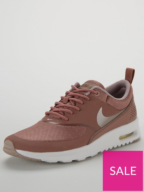 d4226115a1c1f Nike Air Max Thea - Mauve/White | very.co.uk