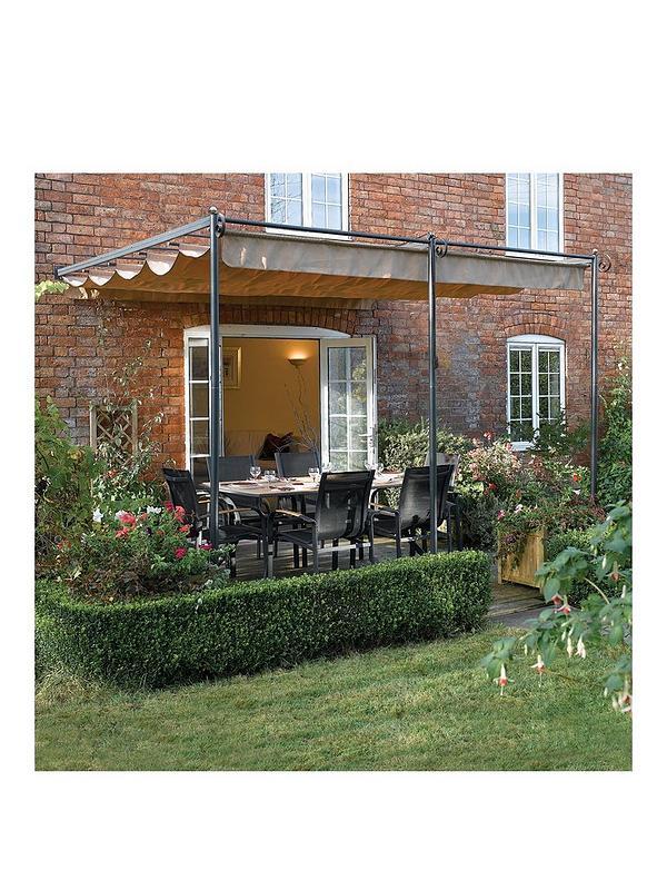 sale retailer fa0b4 f67c7 St. Tropez Retractable Garden Canopy - 270 x 330 x 300 cm