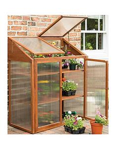 rowlinson-hardwood-mini-greenhouse