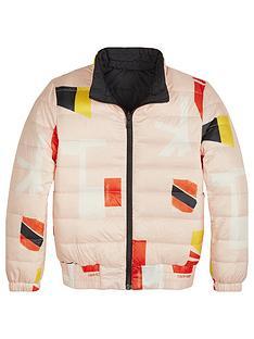 calvin-klein-jeans-girls-printed-reversible-light-padded-jacket-pinkblack