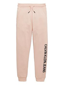 calvin-klein-jeans-girls-logo-cuffed-jogger