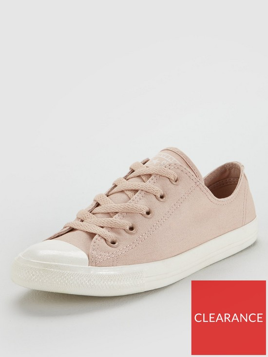 a9bbb75751f1 Converse Chuck Taylor All Star Dainty Ox   very.co.uk