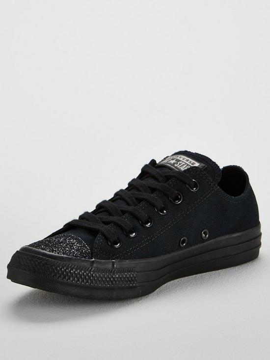 Converse Chuck Taylor All Star Glitter Ox - Black  b31f38480