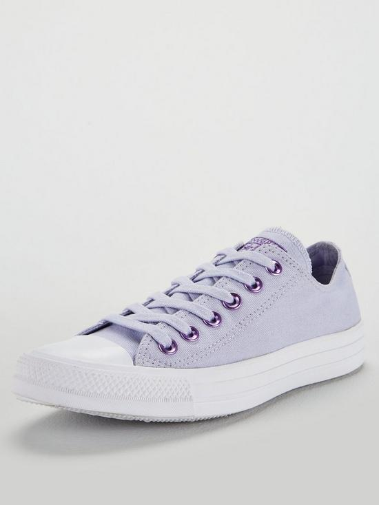 f312be4c0c1028 Converse Chuck Taylor All Star Ox - Lilac White