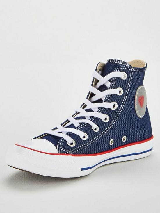ebd88808b882 Converse Chuck Taylor Heart All Star Hi