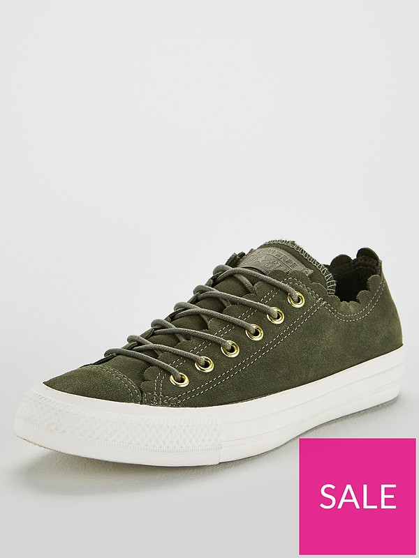 Converse Chuck Taylor All Suede Ox Khakiwhite Verycouk