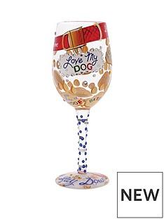 lolita-love-my-dog-wine-glass