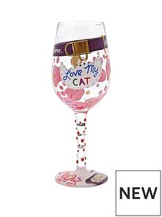 lolita-love-my-cat-wine-glass