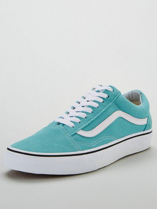 31a88b65c9 Vans UA Old Skool - Light Blue White