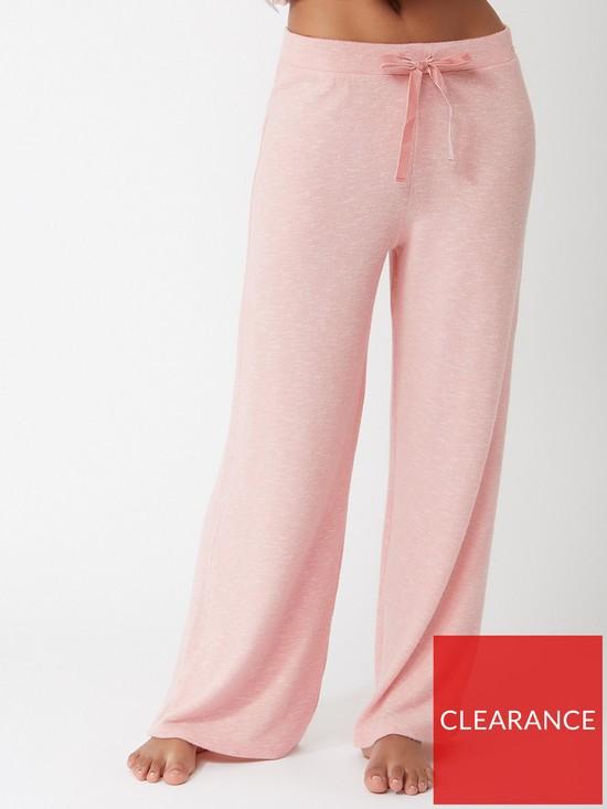 94f46ad3a4b Boux Avenue Cosy Palazzo Lounge Pants - Dusky Pink