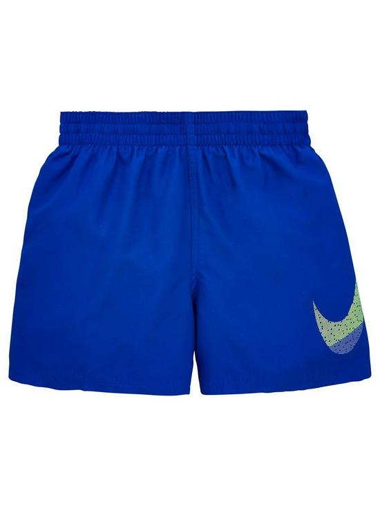 de79dc29d0 Nike Boys Mash Up Breaker 4 Inch Swim Shorts - Blue   very.co.uk