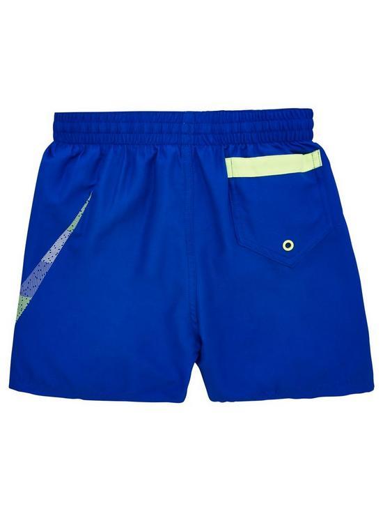 f27063b9cd ... Nike Boys Mash Up Breaker 4 Inch Swim Shorts - Blue. View larger