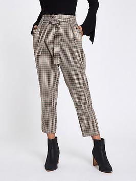 Ri Petite Check Trousers