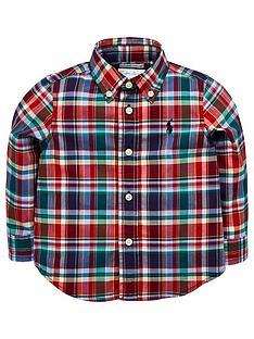 366950d41f Ralph Lauren Baby Boys Long Sleeve Check Shirt