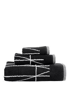 dkny-geometrix-100-cotton-jacquard-550gsm-guest-towel