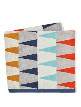 harlequin-azul-100-cotton-terry-woven-jacquard-bath-towel-collection-ndash-ink-amp-slate