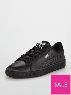 puma-basket-classic-lfs-junior-trainers-black