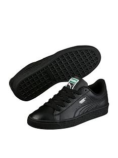 5644ec15ebfbe1 Puma Basket Classic LFS Childrens Trainers - Black
