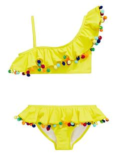 v-by-very-girls-textured-pom-pom-bikini-yellow