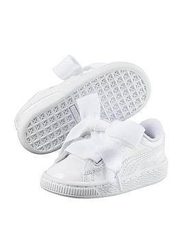 puma-basket-heart-patent-infant-trainers-white