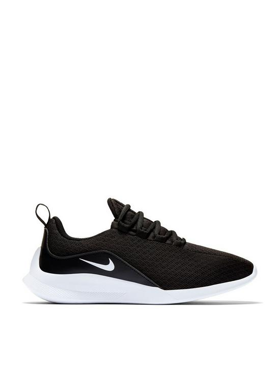 64bface8d8 Nike Viale Junior Trainers - Black/White | very.co.uk