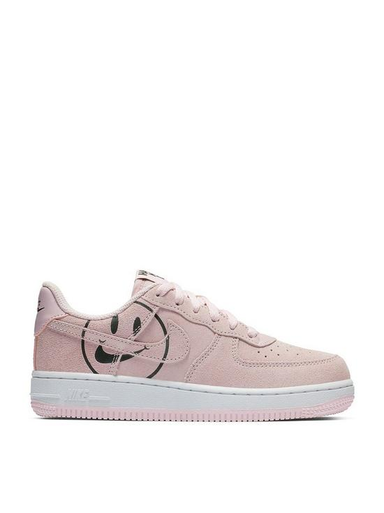 f4dff307cc Nike Force 1 LV8 2 Childrens Trainers - Pink/Black | very.co.uk